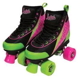 Luscious Skates Delish size 35/36 black/green