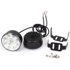 Nappali DRL menetfény autókhoz, 9 LEDes