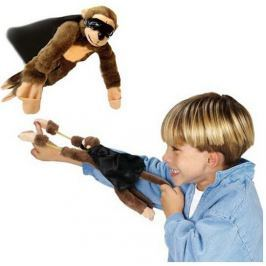 Kilőhető visító majom csúzli