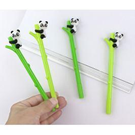 Cuki kapaszkodó pandás bambusz formájú zselés toll