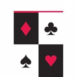 Amscan Abrosz - casino 137 x 243 cm