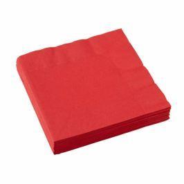Amscan Szalvéták - piros 20 db