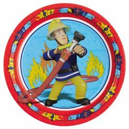 Amscan Tányérok - Sam a tűzoltó 8 db