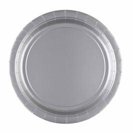 Amscan Tányérok - ezüst 8 db