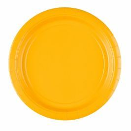 Amscan Tányérok - sárga 8 db