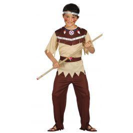 Guirca Gyermek jelmez - Cherokee indián Méret:: 7-9 év (magasság 127-132 cm)