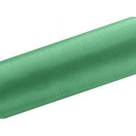 PartyDeco Szatén - zöld 16 cm x 9 m