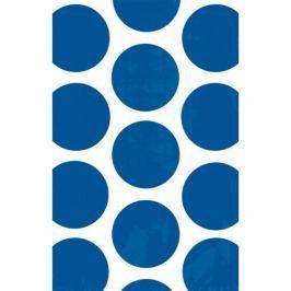 Amscan Papír tasakok - pöttyös, kék 10 db
