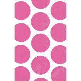 Amscan Papír tasakok - pöttyös, rózsaszín 10 db