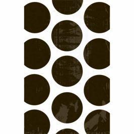 Amscan Papír tasakok - pöttyös, fekete 10 db