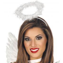 Guirca Angyal glória hajpánt - fehér