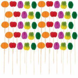 Amscan Gyümölcs alakú falatkapálcikák 50 db