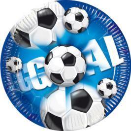 Procos Tányérok - labdarúgás, kék 10 db