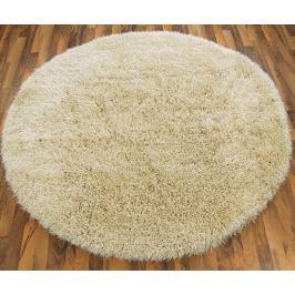 Cascade kerek szőnyeg 160cm - krémszín