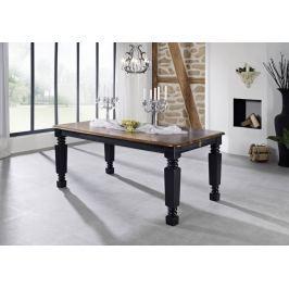 KOLONIAL étkezőasztal 220x100cm, lakkozott paliszander