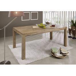 NATURAL étkezőasztal 175x90cm, természetes olajozott indiai paliszander