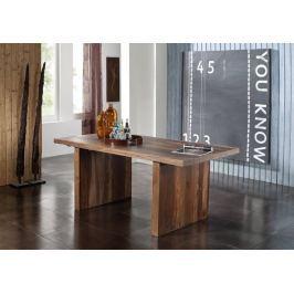 BARON étkezőasztal 180x90cm, masszív indiai paliszander
