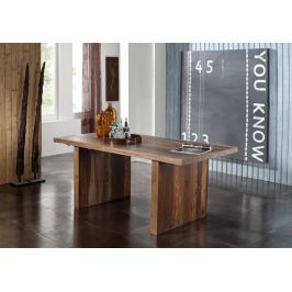 BARON Sheesham étkezőasztal 200x100cm, masszív paliszander