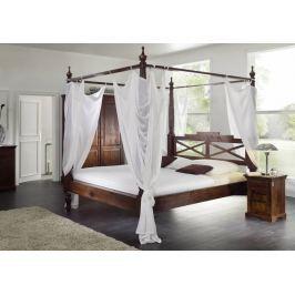 CAMBRIDGE koloniál ágy 180x200cm, masszív akác