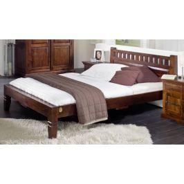 CAMBRIDGE koloniáls ágy 200x200cm, masszív akác