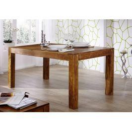 MUMBAJ étkezőasztal 240x100cm, akác, mézszínű
