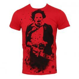 filmes póló férfi Texas Chainsaw Massacre - Red - PLASTIC HEAD - PH7229