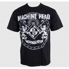 metál póló férfi Machine Head - Classic Crest - ROCK OFF - MAHTEE03MB