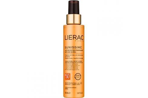 Lierac Sunissime energetizáló védőtej SPF50  150 ml Testre