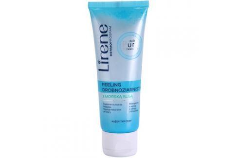 Lirene Algae Pure finoman tisztító peeling kisimító hatással  75 ml Arcpeeling