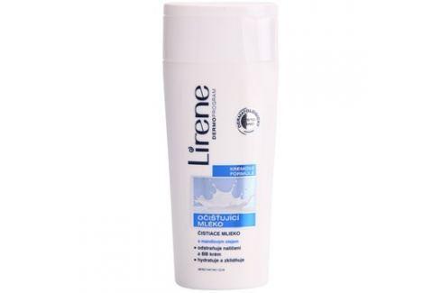 Lirene Beauty Care tisztító tej mandulaolajjal  200 ml Arclemosók