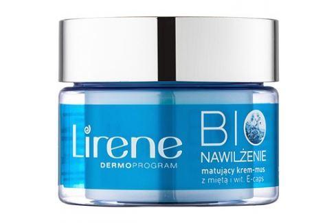 Lirene Bio Hydration hidratáló krém mattító hatással kombinált és zsíros bőrre  50 ml Nappali krémek