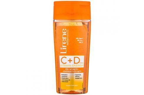 Lirene C+D Pro Vitamin Energy tisztító gél energetizáló hatással 30+  200 ml tisztító zselék