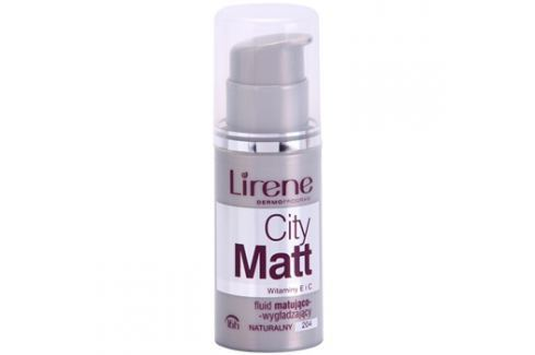 Lirene City Matt mattító make-up folyadék kisimító hatással árnyalat 204 Natural  30 ml up