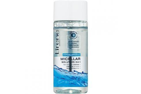 Lirene Hypoallergenic micelláris tisztító víz 3 az 1-ben  75 ml Arclemosók