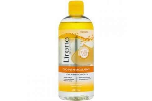Lirene Micel Pure Nutri kétfázisú micelláris víz ricinusolajjal  400 ml Szemlemosók