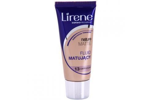 Lirene Nature Matte mattító make-up folyadék a hosszan tartó hatásért árnyalat 13 Capuccino 30 ml up