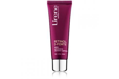 Lirene Retinol D-Forte tápláló és feszesítő maszk arcra, nyakra és dekoltázsra  50 ml Arcmaszkok