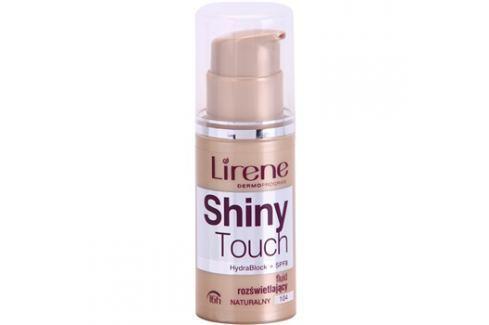 Lirene Shiny Touch bőrvilágosító make-up fluid 16 h árnyalat 104 Natural (SPF 8) 30 ml up