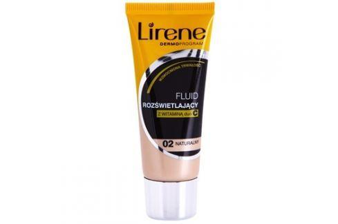 Lirene Vitamin C bőrvilágosító make-up fluid a hosszan tartó hatásért árnyalat 02 Natural 30 ml up