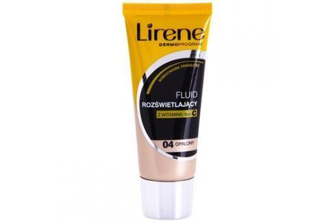 Lirene Vitamin C bőrvilágosító make-up fluid a hosszan tartó hatásért árnyalat 04 Tanned 30 ml up