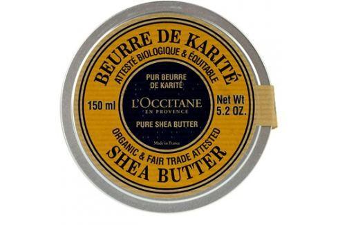 L'Occitane Karité BIO 100 % shea vaj száraz bőrre  150 ml Ajakbalzsamok