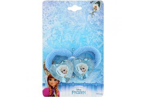 Lora Beauty Disney Frozen hajgumik szív alakú  2 db A hajformázásért