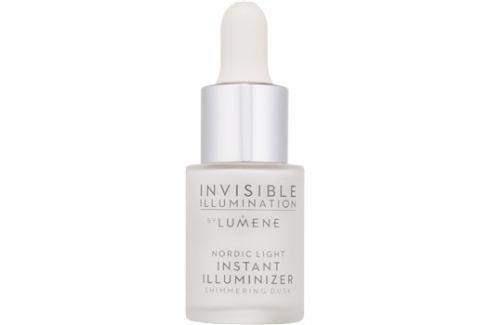 Lumene Invisible Illumination bőrvilágosító az arcra és szemkörüli területekre Shimmering Dusk 15 ml Highlighterek