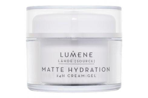 Lumene Lähde [Source of Hydratation] mattító hidratáló géles krém 24h  50 ml Nappali krémek