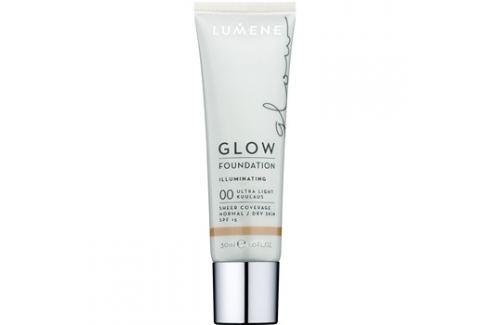 Lumene Nordic Chic Glow alap bázis hidratáló hatással árnyalat 00 Ultra Light 30 ml Bázis alapok