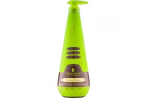 Macadamia Natural Oil Care könnyű hidratáló sampon dús hatásért szilikonmentes és szulfátmentes  1000 ml Parfümök