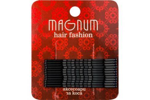 Magnum Hair Fashion Hajtű fekete  12 db Haj kiegészítők