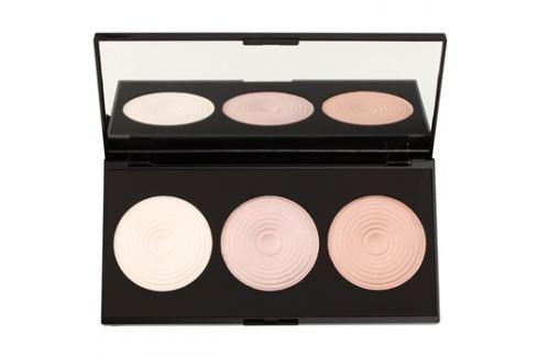 Makeup Revolution Beyond Radiance bőrvilágosító paletta tükörrel  15 g Arcpirosítók