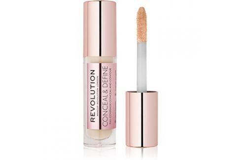 Makeup Revolution Conceal & Define folyékony korrektor árnyalat C2 3,4 ml Korrektorok