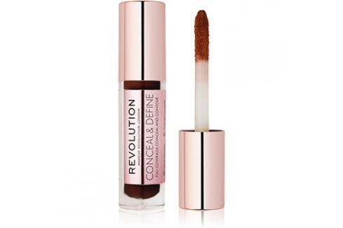 Makeup Revolution Conceal & Define folyékony korrektor árnyalat C17 3,4 ml Korrektorok